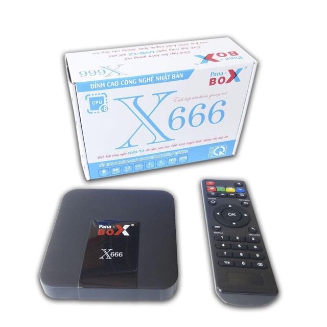 Tivi box pana box X666