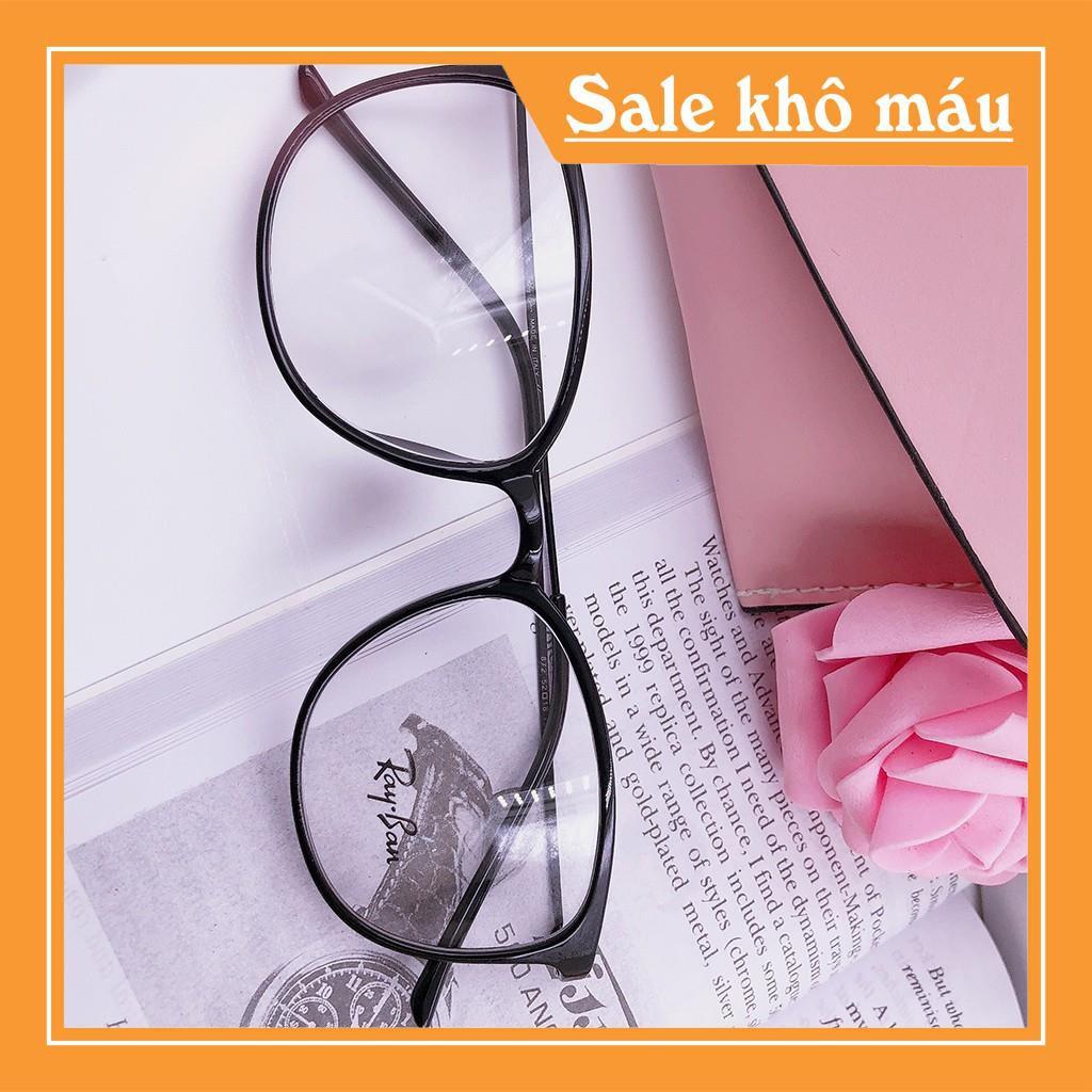 [Giá Hủy Diệt] Gọng kính nhựa dẻo Hàn Quốc - Quai kính uốn dẻo kim loại cao cấp [Bao Chất]