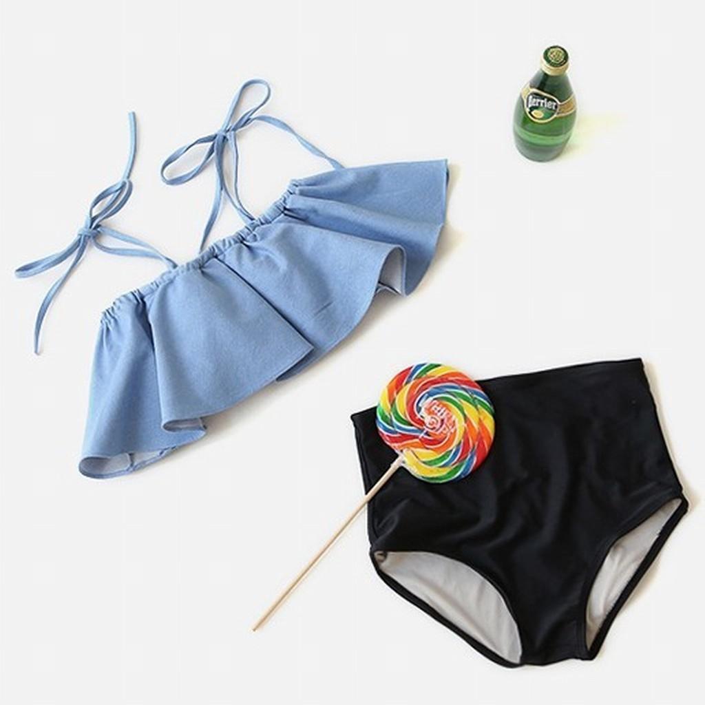 Mặc gì đẹp: Đằm thắm với (Có Video + Ảnh thật) Áo tắm liền mảnh - Bikini nữ liền thân mẫu mới 2021