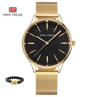 [Tặng vòng tay]Đồng hồ nữ Mini Focus chính hãng MF0044L.04 thép không gỉ thumbnail