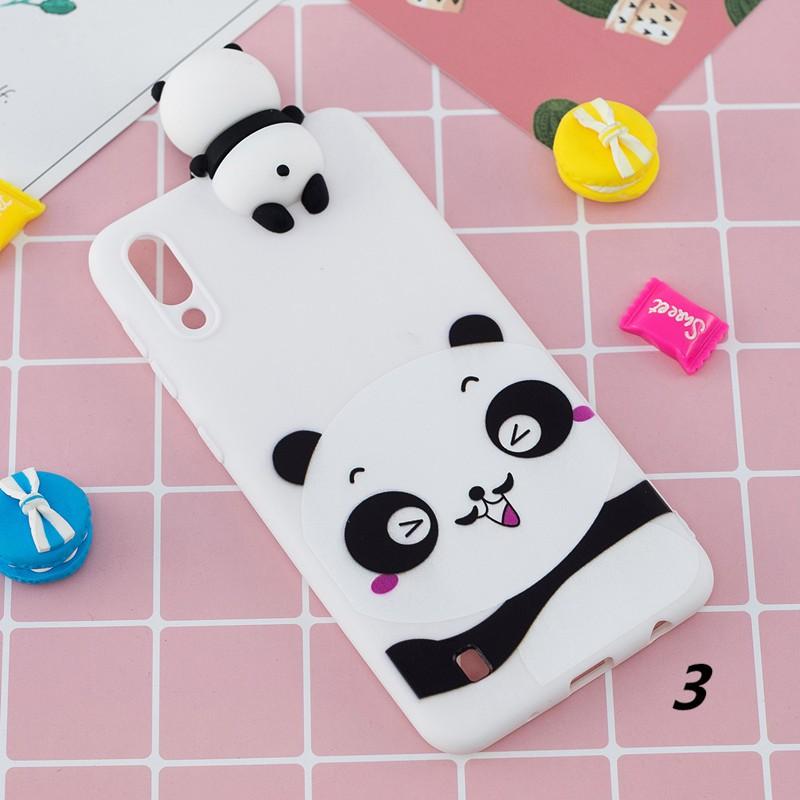 Ốp lưng mềm hình gấu cho điện thoại Samsung Galaxy M10