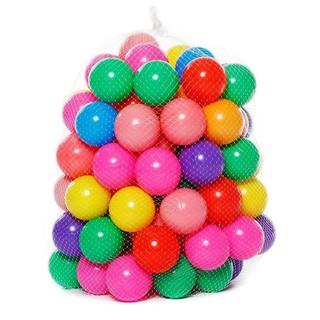 Đồ chơi trẻ em bóng banh 10 trái cho Nhà bóng banh màu trộn lẫn thumbnail