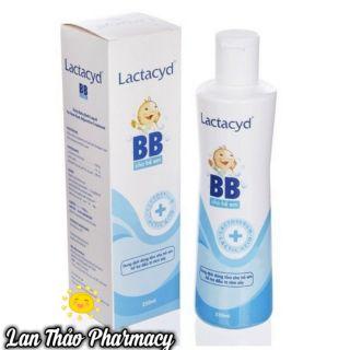 [CHÍNH HÃNG] Sữa tắm Lactacyd BB for baby cho bé 250ml