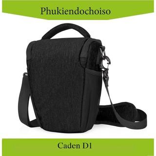 Túi máy ảnh tam giác Caden D1, màu đen thumbnail