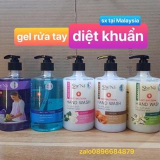 Nước rửa tay diệt khuẩn cao cấp Shena Malaysia 500ml thumbnail