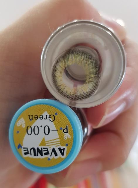 Lens thái màu GREEN