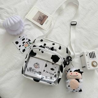 """Túi vải học sinh in họa tiết bò sữa đáng yêu giá chỉ còn <strong class=""""price"""">5.490.000.000đ</strong>"""