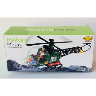 [FLOW SHOP để nhận ưu đãi lớn] Đồ chơi máy bay trực thăng Mititary – 4278