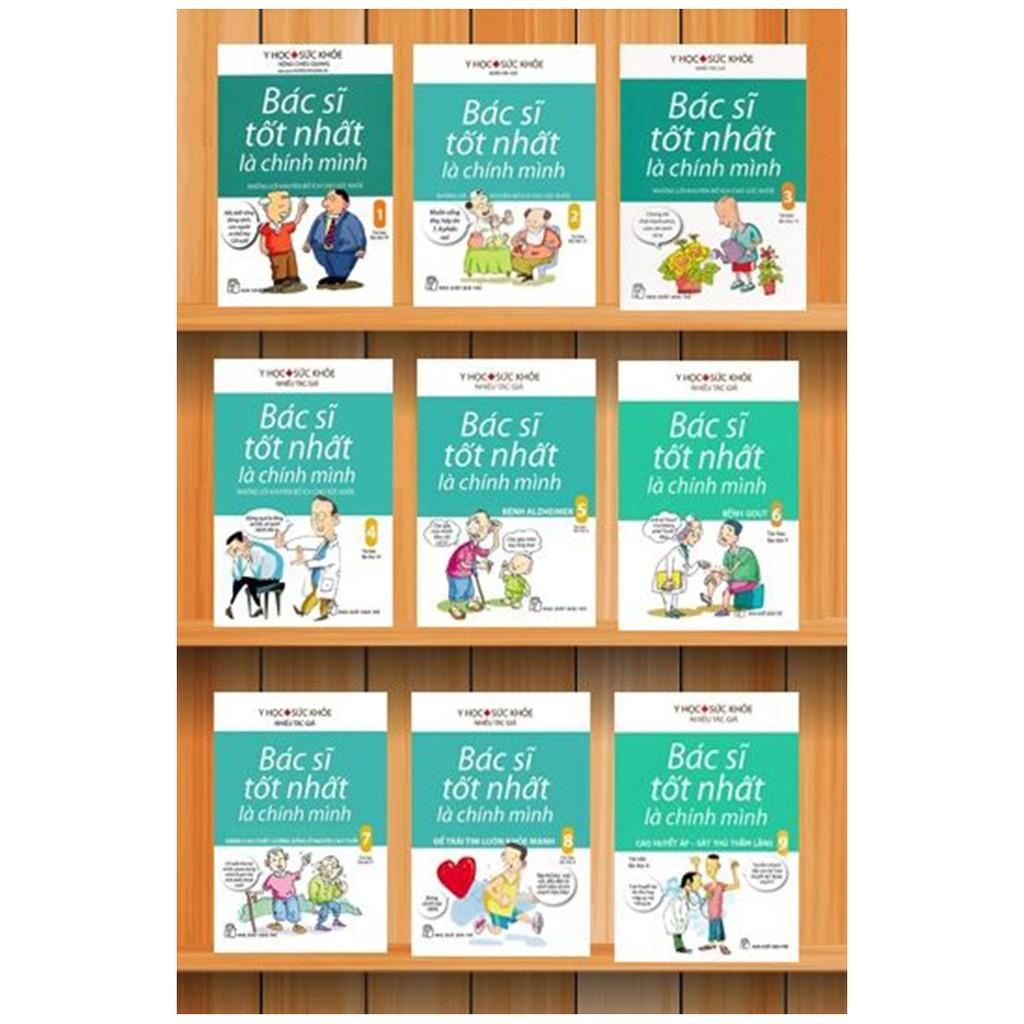Sách: Trọn bộ 9 tập Bác sĩ tốt nhất là chính mình (Tái bản lần thứ 29)