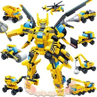 Đồ Chơi Lắp Ráp Robot Biến hình 8 in 1