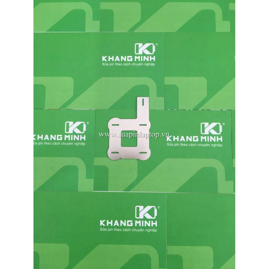 KM Kẽm vuông 2S - 2P, size 0.15*8mm, có pass hàn dây