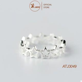 Nhẫn bạc 925 thiết kế hình ngôi sao đơn giản xinh xắn thời trang cho nữ 2020 ANTA Jewelry - ẠT3029 thumbnail