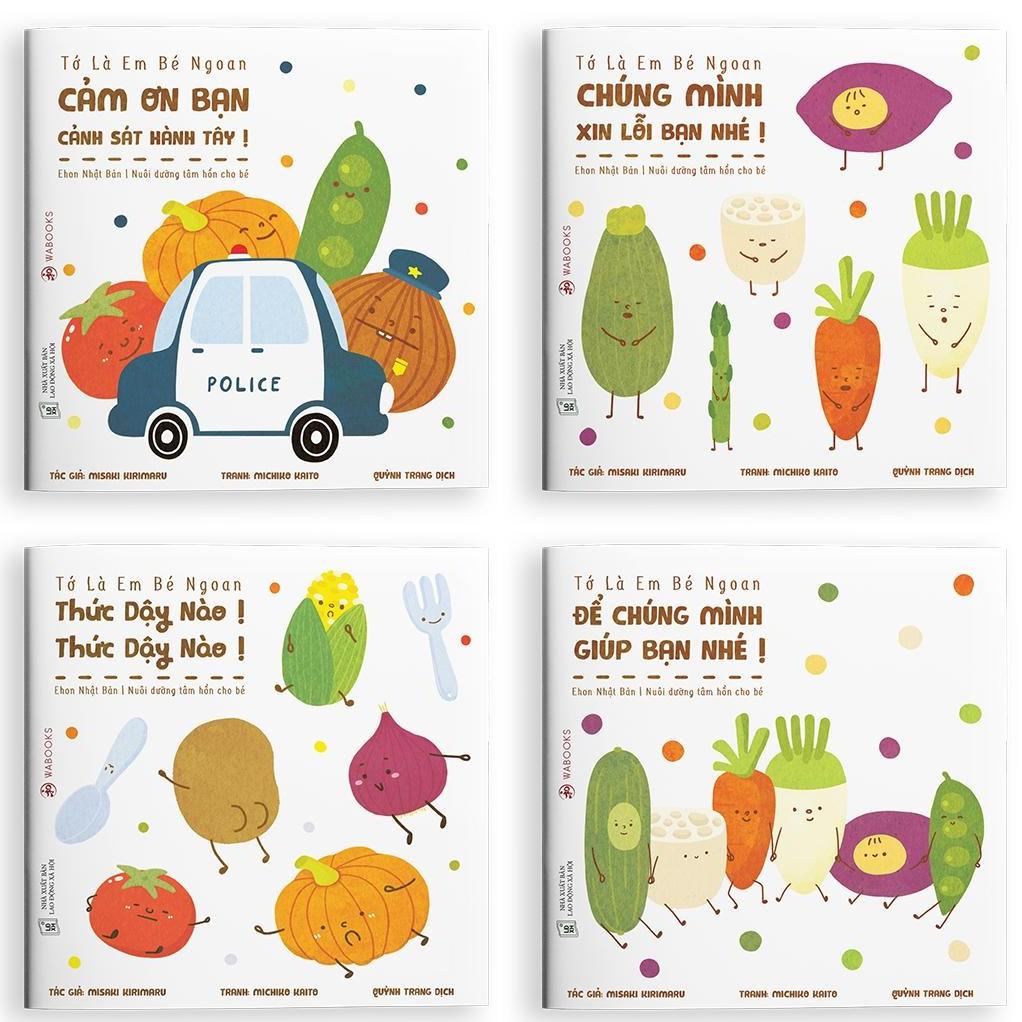 Sách Ehon Nhật Bản - Tớ là em bé ngoan - Dành cho trẻ từ 2