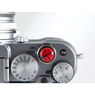 Shutter Button - Nút Bấm Chụp Ảnh Hình Bọ Ladybug Dành Cho Máy Ảnh Fujifilm, Leica, Contax, ... thumbnail