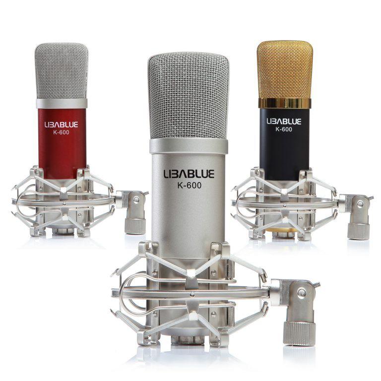 Micro karaoke cho máy tính LibaBlue K-600
