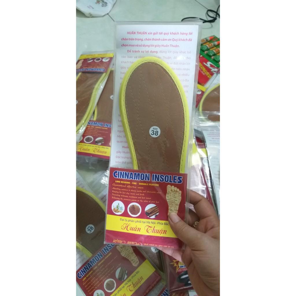 lót giày hương quế khử mùi hôi chân 4 lớp (1 đôi)--- Lót giầy hương quế cao cấp giá rẻ êm chân VT65