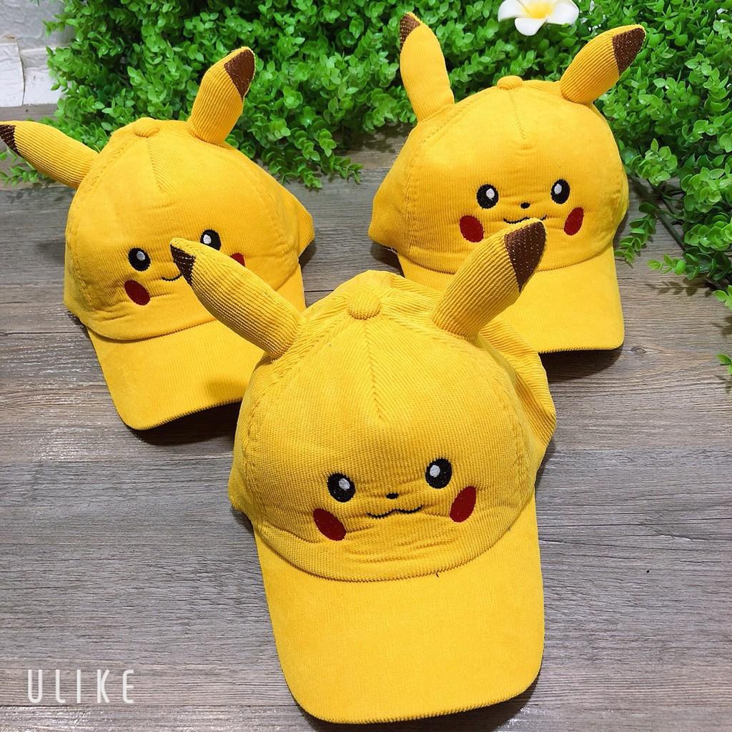 Mũ Lưỡi Trai Hình Pikachu Cho Bé
