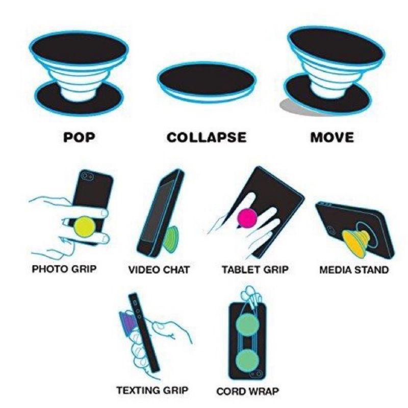 Pop giá đỡ điện thoại đa năng