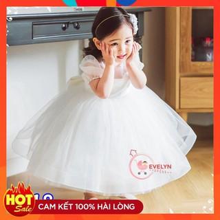 Đầm cho bé 👗 FreeShip + Tặng kèm nơ 🌺 Đầm công chúa Evelyn cho bé siêu xinh VF18 E001 E003