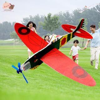 Đồ chơi máy bay phóng bằng tay kích thước 19cm
