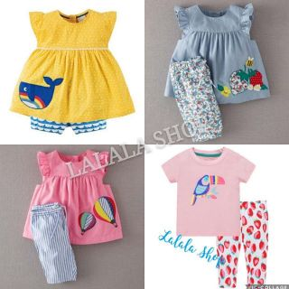 Bộ quần áo Little Maven cho bé gái
