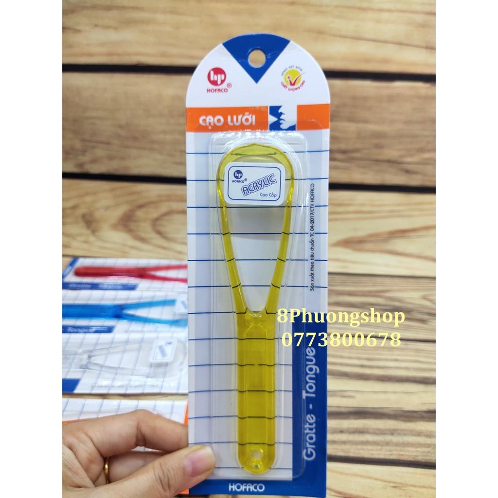 Thìa cạo lưỡi Hồng Phát HPG26 - Dụng cụ vệ sinh làm sạch lưỡi Hofaco