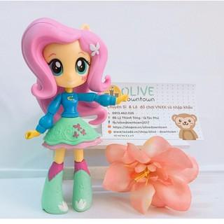 Búp bê Pony – Fluttershy váy xanh viền hồng
