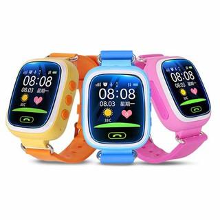 Đồng hồ thông minh định vị trẻ em GPS Q90 cảm ứng