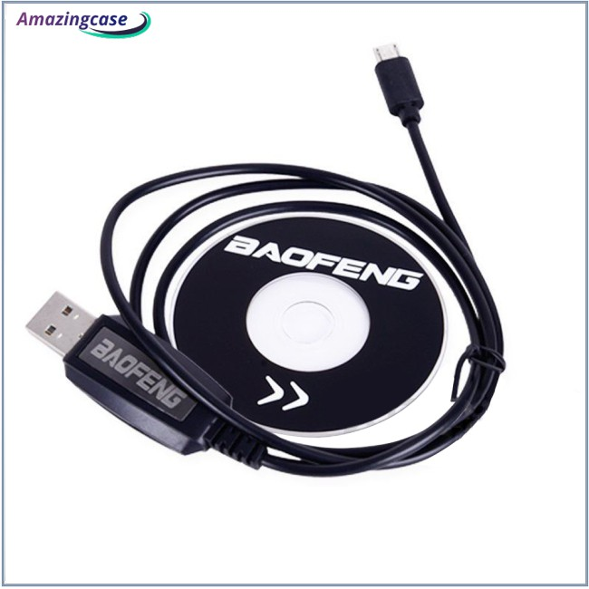 USB Programming Cable for BAOFENG BF-T1 UHF 400-470mhz Mini Walkie Talkie