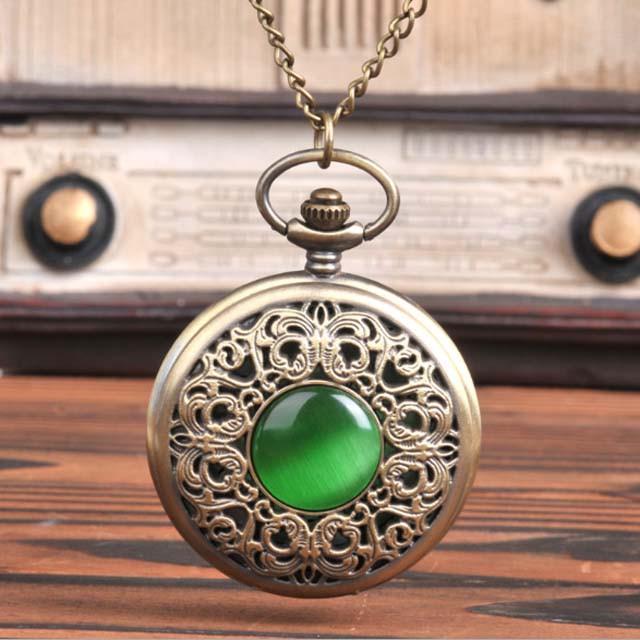 Đồng hồ dây chuyền quả quýt Q013 Size lớn