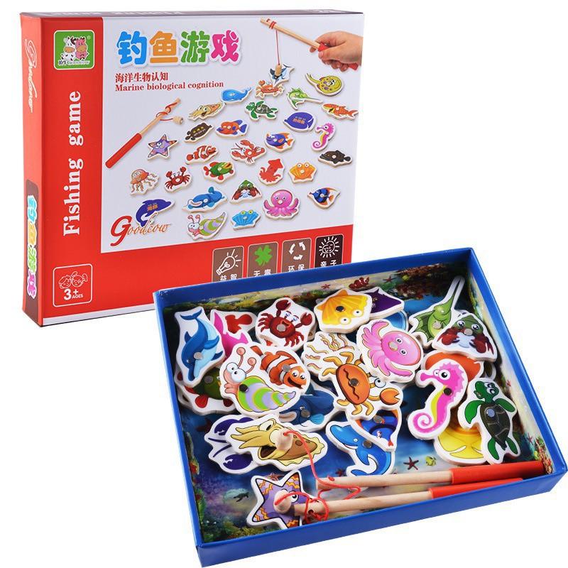 Bộ đồ chơi câu cá nam châm bằng gỗ 32 chi tiết phát triển IQ cho bé - 3263685 , 1157413492 , 322_1157413492 , 83000 , Bo-do-choi-cau-ca-nam-cham-bang-go-32-chi-tiet-phat-trien-IQ-cho-be-322_1157413492 , shopee.vn , Bộ đồ chơi câu cá nam châm bằng gỗ 32 chi tiết phát triển IQ cho bé