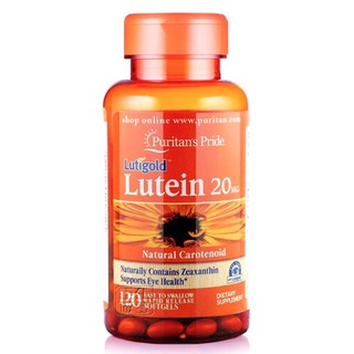 Viên uống bổ mắt Lutein 20mg (lọ 120v)