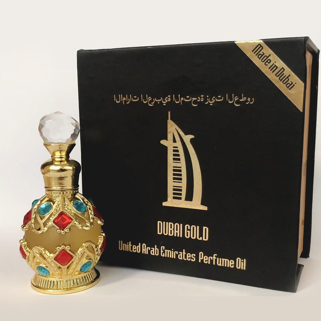 Tinh dầu Dubai lăn, chấm 17ml, 15ml, 5ml (tặng vial thử mùi chỉ hôm nay)