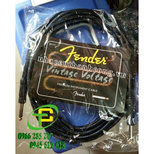 Dây line Fender, dây jack cắm từ loa qua đàn