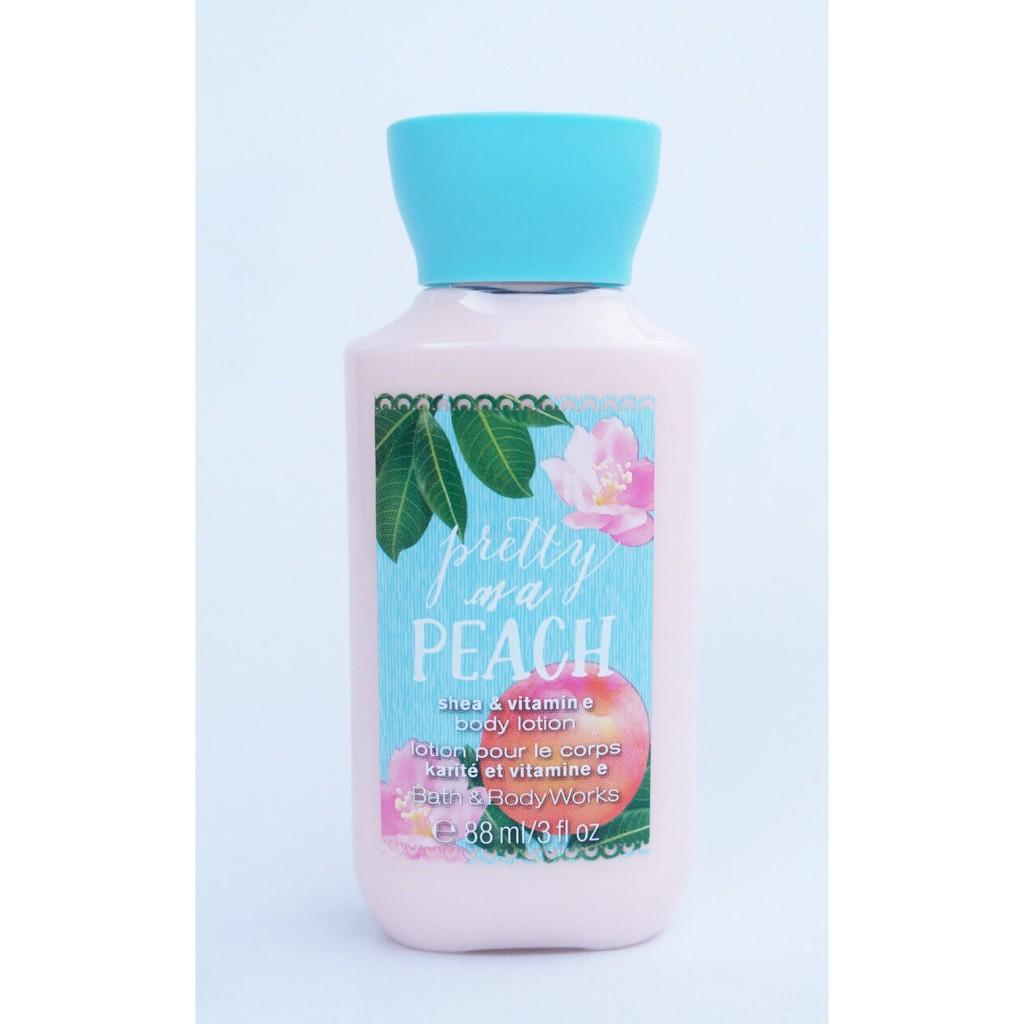 Sữa dưỡng thể mini Pretty as a Peach - Bath & Body Works (88ml)