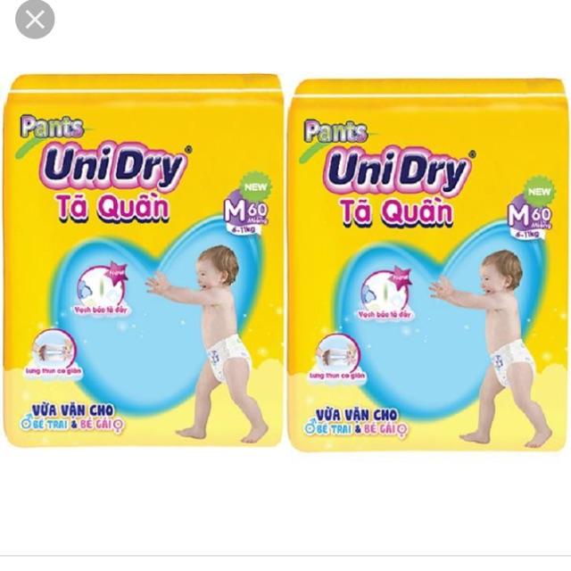 Tả quần Unidry 2 gói tặng nón bảo hiểm hoặc g