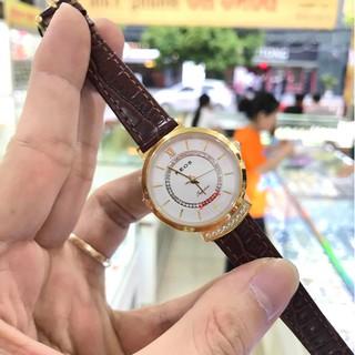 Đồng hồ nữ Neos 40743ALN dây da full hộp thẻ chính hãng, kính sapphire chống xước ch thumbnail