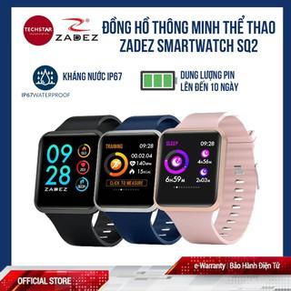 Đồng hồ thông minh Zadez Smartwatch SQ2 bảo hành điện tử 15 tháng
