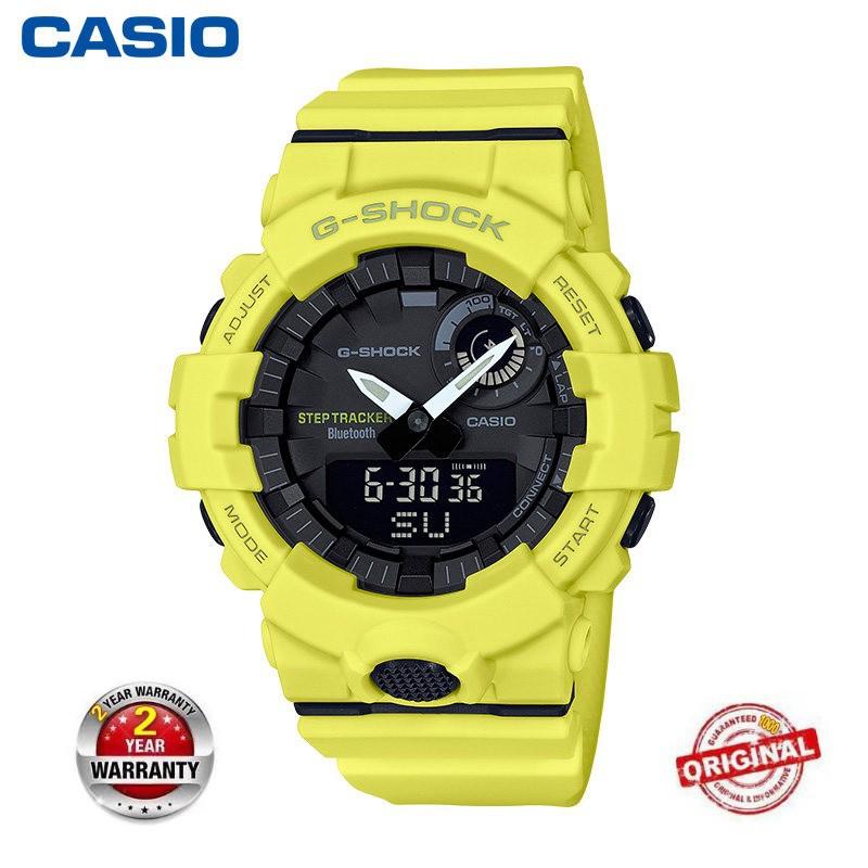 Casio G-SHOCK gba-800-9adr M Gan Pria Step Tracker Watch