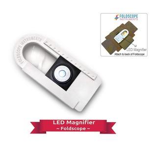 BỘ ĐÈN LED KÍNH LÚP CHO KÍNH HIỂN VI FOLDSCOPE – LED Magnifier Kit