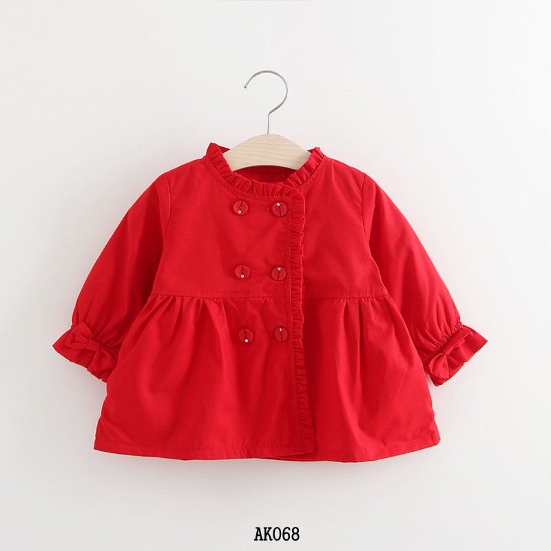 Áo khoác bé gái 2-5 tuổi hàng Quảng Châu AK068