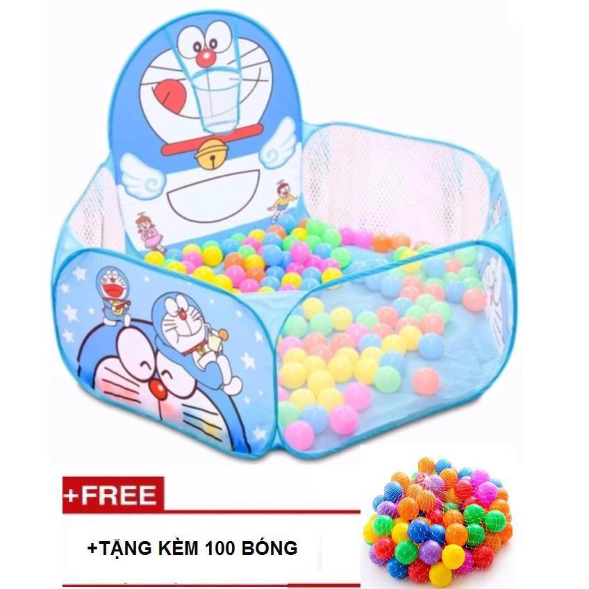 Nhà banh trẻ em TẶNG kèm 100 bóng HOT