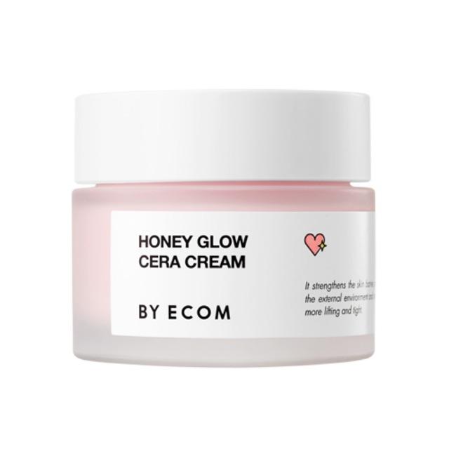Kem dưỡng sáng căng bóng da [BY ECOM] Honey Glow Cera Cream 50ml