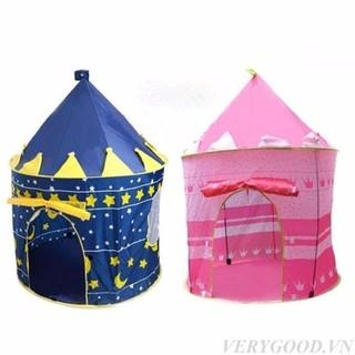 Lều bóng lâu đài cho các bé