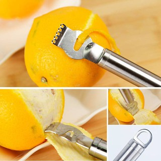 Tool Vegetable Stainless Steel Fruit Peeling Orange Zester Lemon Grater
