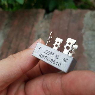 Diot cầu chỉnh lưu 50A 35A 25A, diode chỉnh lưu cầu vỏ nhôm 1000v thumbnail