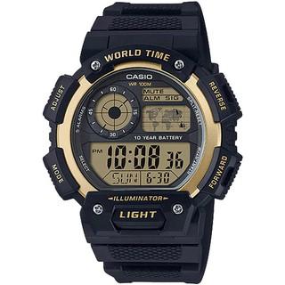 Đồng hồ Casio Nam điện tử AE-1400WH-9AVDF dây nhựa thumbnail