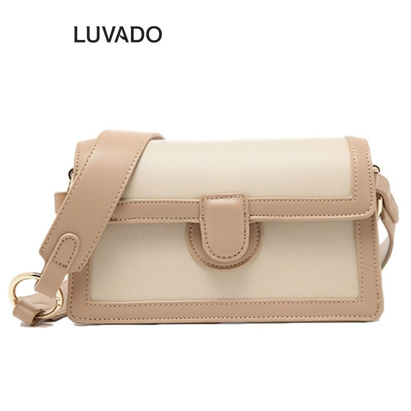 Túi xách nữ cao cấp đeo chéo MICOCAH đẹp giá rẻ thời trang LUVADO TX477