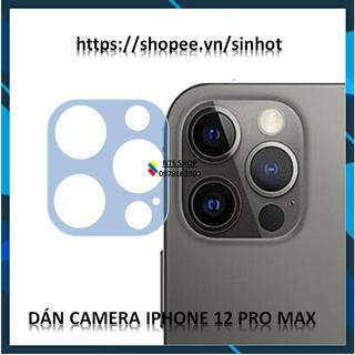 Dán cường lực dẻo bảo vệ camera Iphone 12 pro max thumbnail