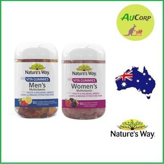 Kẹo dẻo bổ sung Vitamin và khoáng chất Nature s Way Men s Multi - Vitamin Vita Gummies - ÚC - 100viên thumbnail